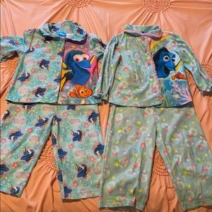 2T Finding Dory flame resistant pajamas